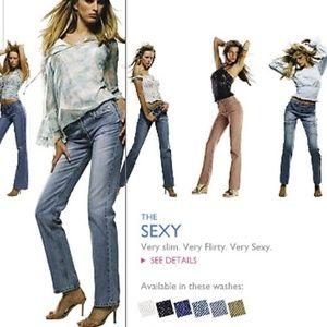 ⬇️$40 Victoria's Secret London Jean Classic Wash